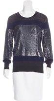 3.1 Phillip Lim Colorblock Embellished Sweater