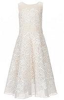 Tadashi Shoji Little Girls/Big Girls 2T-12 Floral-Embroidered-Lace Dress
