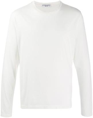 Katharine Hamnett long-sleeved 'clean up or die' T-shirt