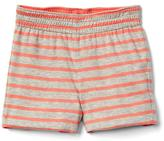 Stripe reversible shorts