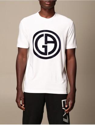 Giorgio Armani T-shirt Cotton T-shirt With Logo