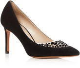 Tory Burch Delphine Embellished Pointed Toe High Heel Pumps