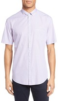Zachary Prell Men's Friswold Trim Fit Plaid Sport Shirt