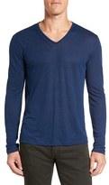 John Varvatos Men's Long Sleeve V-Neck T-Shirt