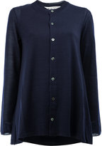 Comme des Garcons button up cardigan - women - Acrylic/Wool - XS