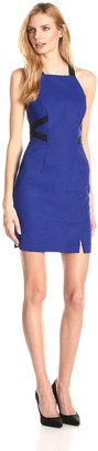 French Connection Women's Edyta Stretch Strappy Color-Block Dress
