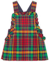 Gucci Baby wool madras dress