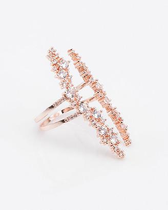 Le Château Cubic Zirconia & Metal Ring