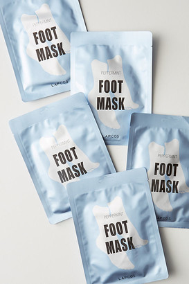 LAPCOS Peppermint Foot Mask Set By in Blue