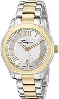 Salvatore Ferragamo Men's FQ1930015 Lungarno Analog Display Quartz Two-Tone Watch