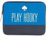 Kate Spade Play Hooky Canvas iPad Sleeve