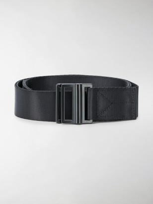 Y-3 Logo Print Woven Belt