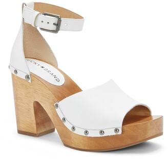 Lucky Brand Nelora Ankle Strap Platform Sandal