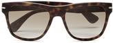 Prada Men's Conceptual Arrow Sunglasses Matte Havana