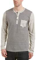 Splendid Mills Striped Henley.