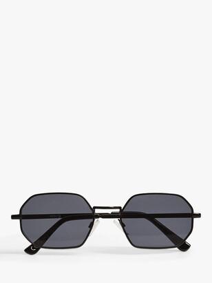 MANGO Tess Irregular Frame Sunglasses