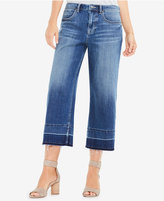 Vince Camuto TWO by Cropped Raw-Hem Jeans