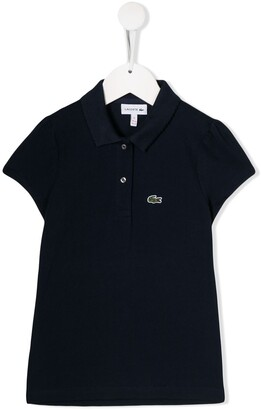 Lacoste Kids Short-Sleeved Logo Patch Polo Shirt