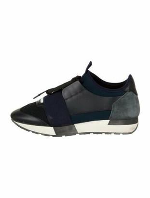 Balenciaga Race Runner Athletic Sneakers Blue