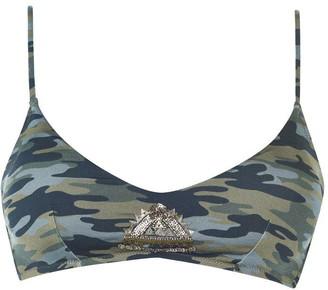 Watercult Camo Luxe Bikini Top