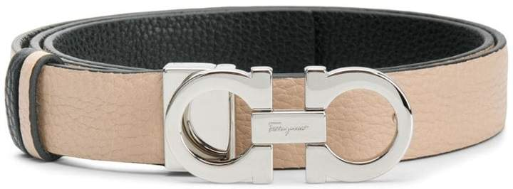 Double Gancini Belt by Salvatore Ferragamo