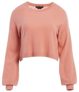 Alice + Olivia Ansley Cropped Sweater