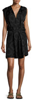 Isabel Marant Sleeveless Wrap Dress, Black