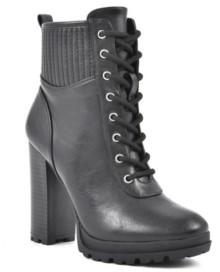 Seven Dials Hugo Women's Lace-Up Booties Women's Shoes