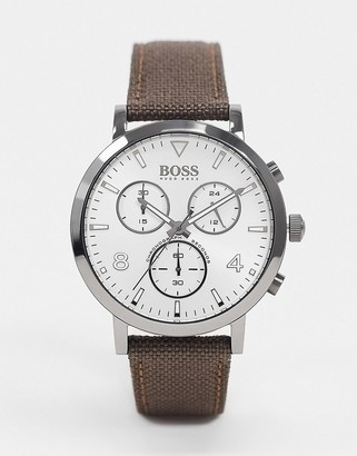 HUGO BOSS Spirit watch in brown