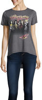 Freeze Aerosmith Drapey Tunic T-Shirt- Juniors