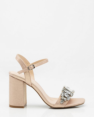 Le Château Jewel Embellished Open Toe Sandal