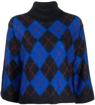 Paul Smith argyle print jumper