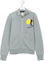 DSQUARED2 teen long sleeve jacket - kids - Cotton - 14 yrs