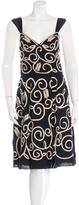 Louis Vuitton Embellished Embroidered Dress