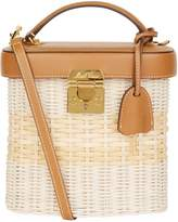Mark Cross Benchley Rattan Leather Bag