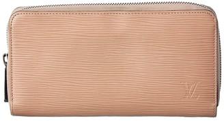Louis Vuitton Beige Epi Leather Zippy Wallet