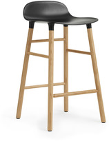 Normann Copenhagen Form Barstool H65cm Black/Oak