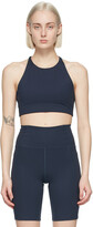 Thumbnail for your product : Girlfriend Collective Navy Topanga Sports Bra
