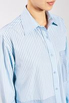 Boutique Reconstructed stripe shirt