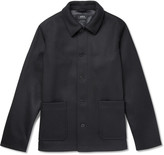 A.P.C. - Auray Felted Wool-Blend Jacket