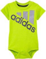 adidas Built FOR Speed Bodyshirt (Baby) - Light Green - 9 Months