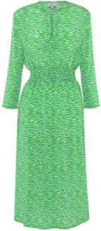 Primrose Park Tiffany Tiger Dress Green - small