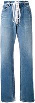 Off-White zip detail Levi jeans - women - Cotton - 27