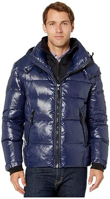 S13 Downhill Puffer Jacket (Marine) Men's Clothing