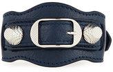 Balenciaga Giant 12 Leather Buckle Bracelet