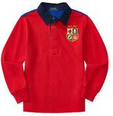 Ralph Lauren Cotton Mesh Rugby Shirt