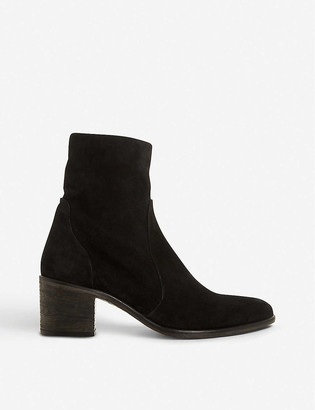 Dune Parsonns nubuck leather ankle boots