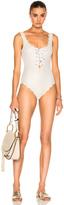 Marysia Swim Palm Springs Tie Maillot Swimsuit