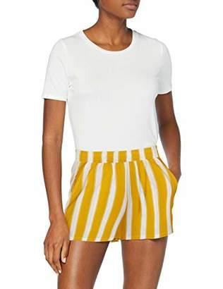 Only Women's Onlnova Shorts AOP 5 WVN,10 (Size: )