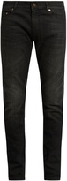 Saint Laurent Skinny-leg faded jeans